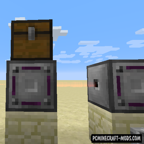Modular Routers - Redstone Mod MC 1.16.1, 1.15.2, 1.14.4
