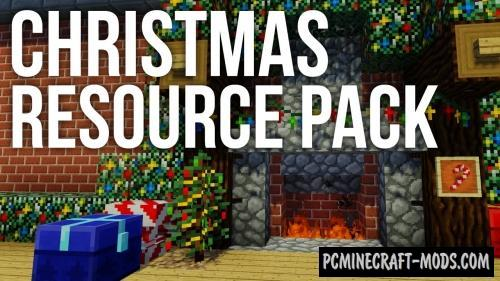 Default-Style Christmas 16x Texture Pack For Minecraft 1.12.2