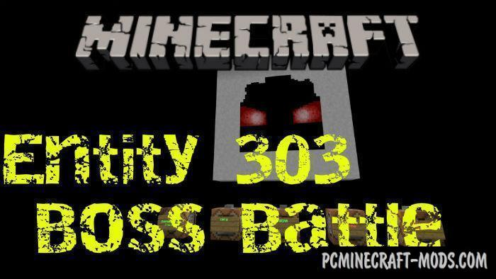 Entity 303 Boss Battle - PvE Map For Minecraft PE 1.4.0