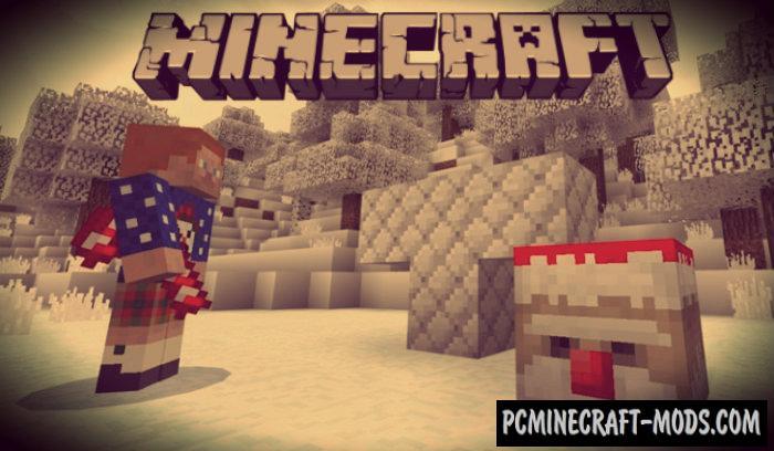 Evil Santa Boss Minecraft PE Bedrock Mod 1.9.0, 1.7.0