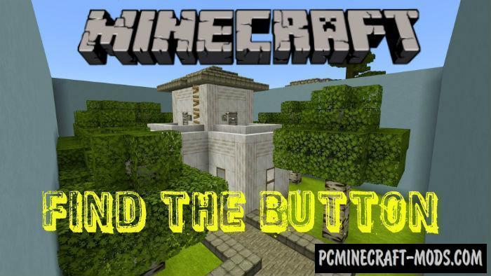 Find The Button: Mini Square Minecraft PE Map 1.4.0, 1.2.13