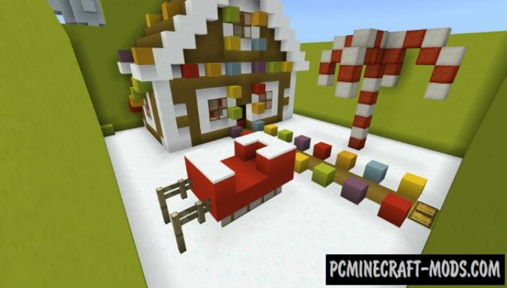 Find the Button Christmas Minecraft PE Map 1.5.0, 1.4.0