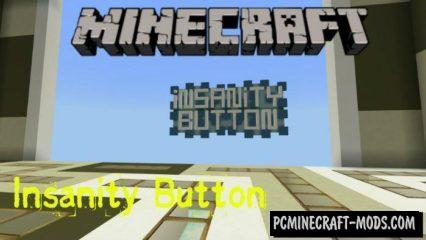 Insanity Button Puzzle Minecraft PE Bedrock Map 1.2.7.2, 1.2.6.60