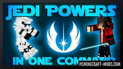 Jedi Powers Command Block For Minecraft 1.12.2