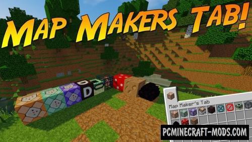 Map Maker's Tab - Tweak Mod For Minecraft 1.12.2, 1.11.2