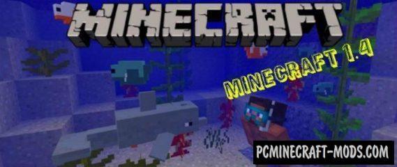 Minecraft 1.4, 1.3 Concept Minecraft PE Bedrock Addon 1.2.11, 1.2.10