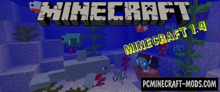 Minecraft 1.4, 1.3 Concept Minecraft PE Bedrock Addon 1.9.0, 1.7.0