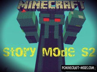 Minecraft Story Mode S2 Minecraft PE Bedrock Mod 1.2.9, 1.2.8