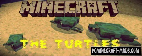 New Mob - The Turtles Minecraft PE Addon 1.9.0, 1.8.0, 1.7.0