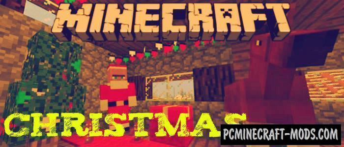 New Year 2021 Christmas Minecraft PE Addon/Mod 1.16