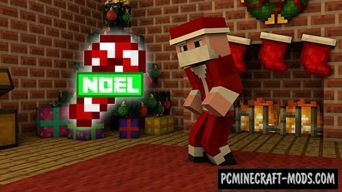 Noel - Christmas Furniture Mod For Minecraft 1.16.4, 1.12.2