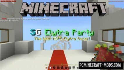 SG Elytra Party Mini-Game Minecraft PE Map 1.2.7, 1.2.6
