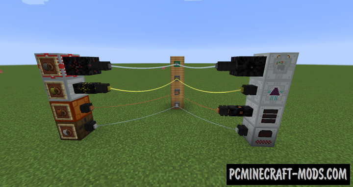 Industrial Wires - Tech Mod For Minecraft 1.12.2, 1.11.2, 1.10.2