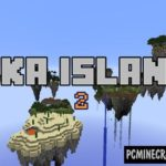 Ultimate Sky Land Challenge Map For Minecraft