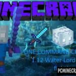 Lava And Water Waves Generator Command Block For Minecraft 1.12.2