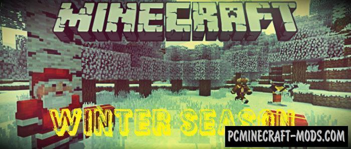 Winter Season Minecraft PE Bedrock Mod 1.9.0, 1.7.0