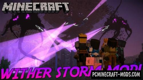 Wither Storm - New Boss Mod For Minecraft 1.8.9