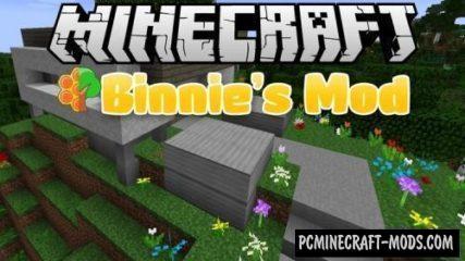 Binnie's Mods Mod For Minecraft 1.12.2, 1.11.2, 1.7.10