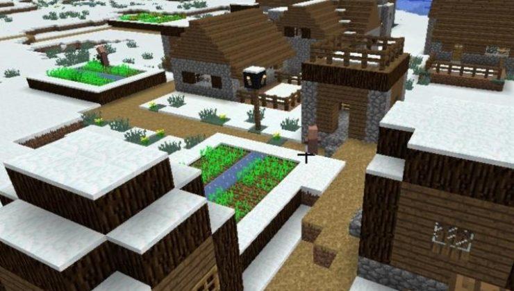 SnowVillage Mod For Minecraft 1.12.2, 1.11.2