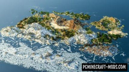 Dragon Ball Z Earth Map For Minecraft