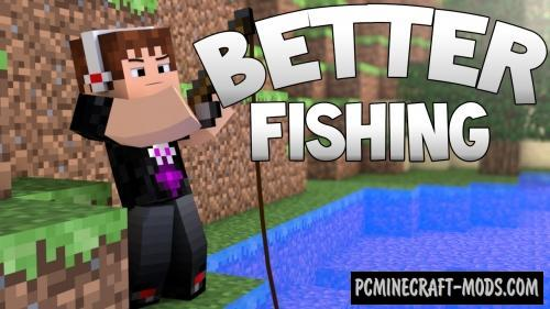 Better Fishing - Realistic Mod For Minecraft 1.12.2