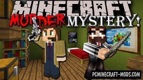 Mystery Murder - Finding, Parkour Map Minecraft
