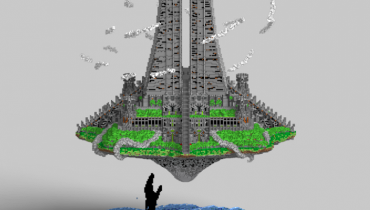 Temple of Talaloc - Castle Map For Minecraft