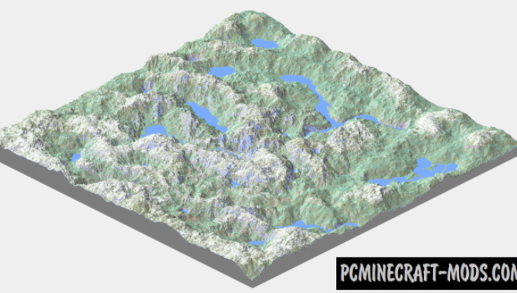 Extreme Hills Survival Map For Minecraft