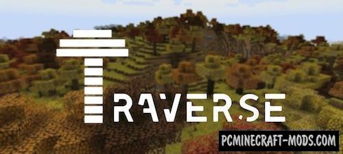 Traverse - New Biomes Fabric Mod For MC 1.16.1, 1.15.2