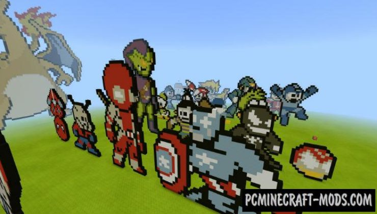 100 Arts From Dandy Console Minecraft Map 1.5.0, 1.4.0
