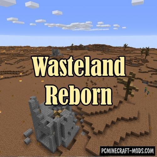 Wasteland Reborn Mod For Minecraft 1.12.2, 1.11.2