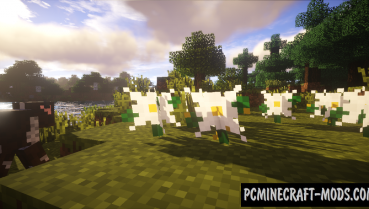 Plants Mod For Minecraft 1.12.2, 1.11.2, 1.10.2