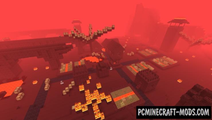 Nether Overload - Adventure Mod For Minecraft 1.12.2, 1.10.2