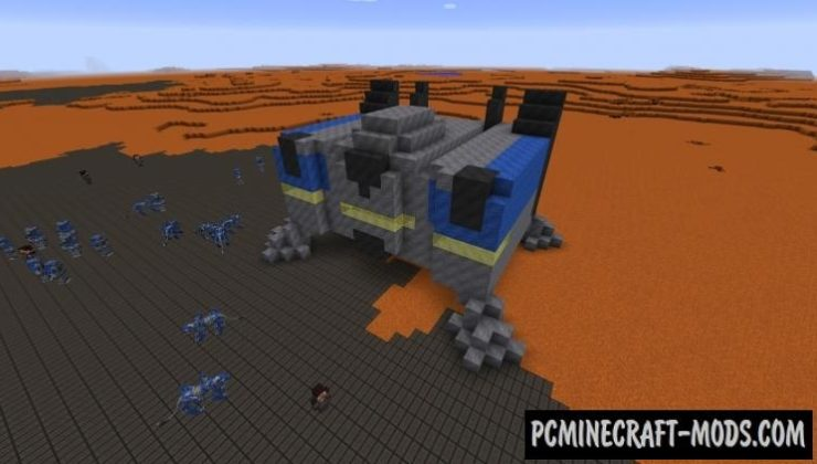 StarCraft - Mobs, Weapons Mod For Minecraft 1.12.2, 1.7.10