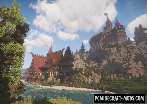 Castle Blackthorn Map For Minecraft