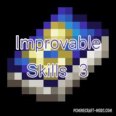 Improvable Skills 3 Mod For Minecraft 1.12.2, 1.11.2, 1.10.2