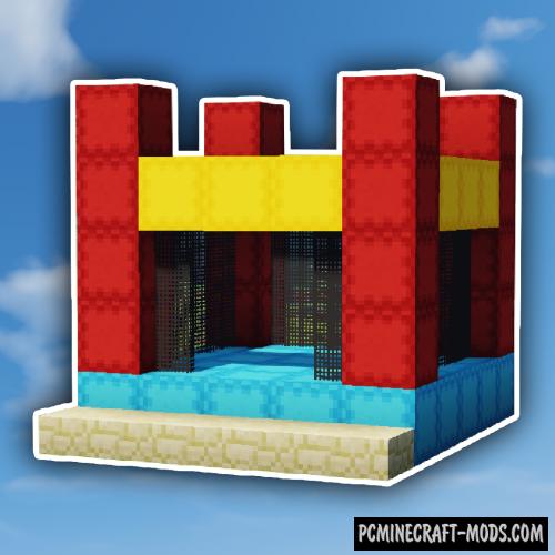 MrCrayfish's Jumping Castle Mod For Minecraft 1.12.2