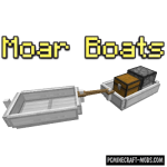 Swan Boats Mod For Minecraft 1.12.2
