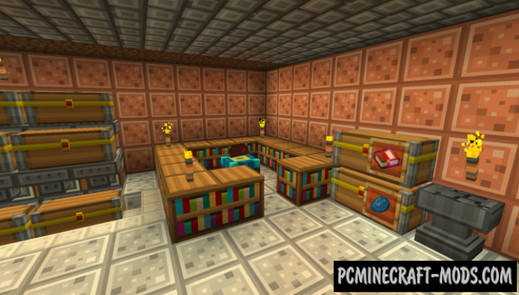 Radiant Pixels 16x16 Resource Pack For MC 1.15.1, 1.14.4