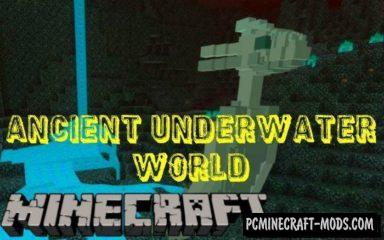 Ancient Underwater World Mod For Minecraft PE 1.2.11, 1.2.10