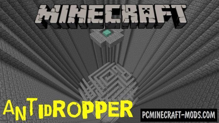 Antidropper Minecraft PE Bedrock Map 1.5.0, 1.4.0
