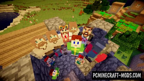 Better NPC 16x Resource Pack For Minecraft 1.12.2