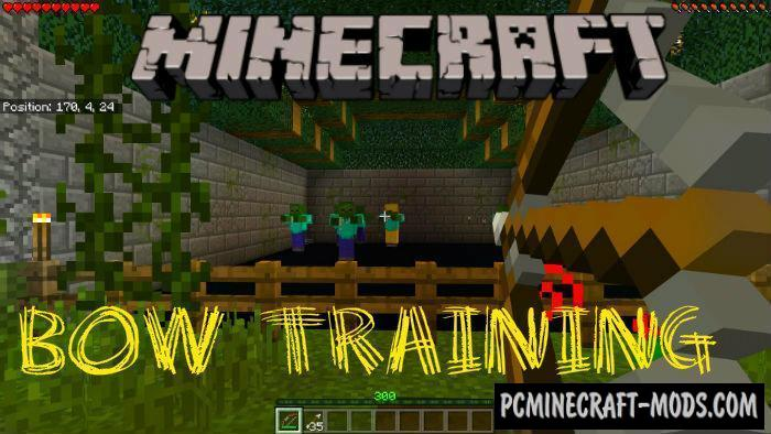 Bow Training - Minigame Minecraft PE Map 1.5.0, 1.4.0