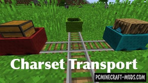 Charset Transport - Blocks Mod For Minecraft 1.12.2