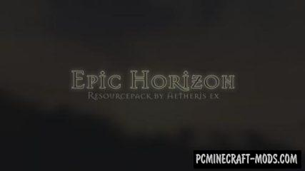 Epic Horizon Resource Pack For Minecraft 1.12.2