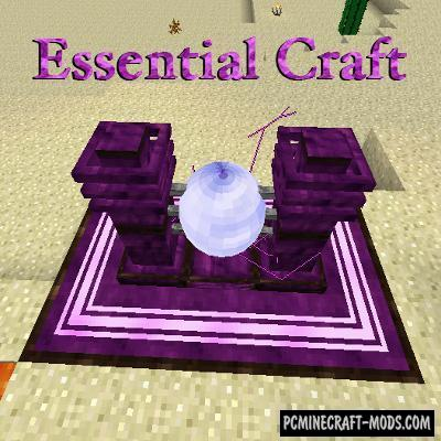 EssentialCraft 4 Unofficial Mod For Minecraft 1.12.2, 1.10.2