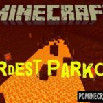 Tower of Parkour Minecraft PE Bedrock Map 1.2.11, 1.2.10