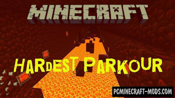 Hardest Parkour Minecraft PE Bedrock Map 1.5.0, 1.4.0
