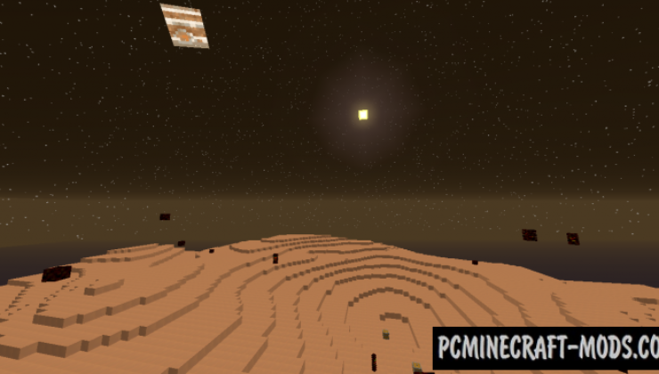 ExtraPlanets - New Dimensions Mod For Minecraft 1.12.2