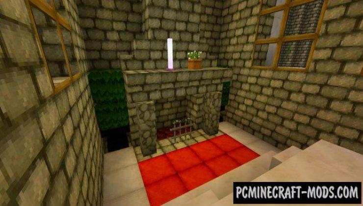 Huge Castle Minecraft PE Bedrock Map 1.5.0, 1.4.0